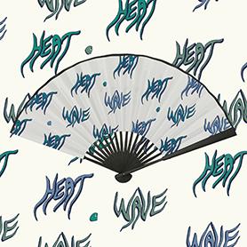 HEAT WAVE PAPER FAN